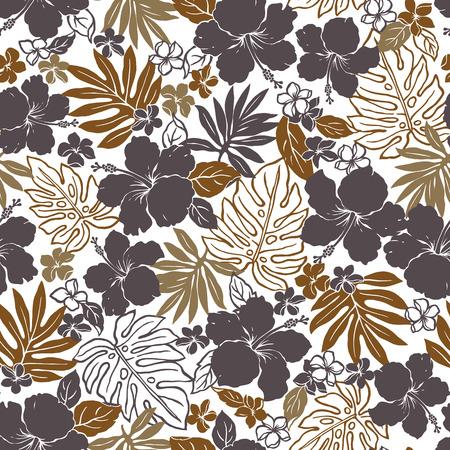 hibiscus: Hibiscus flower pattern