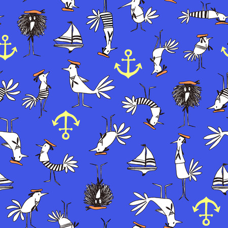 clothes interesting: Comics style Bird pattern