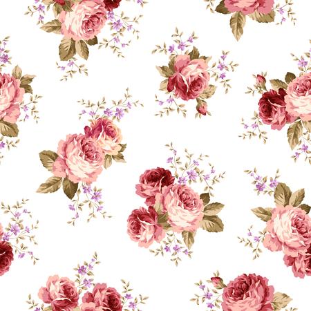 corsage: Rose flower pattern