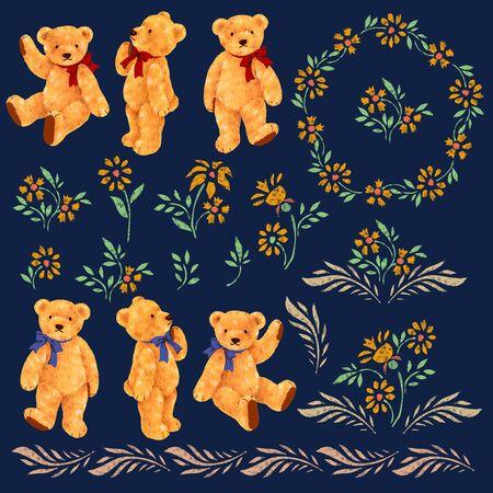 whim: Pretty bear illustration