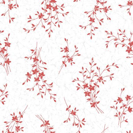 sweet grass: Leaf illustration pattern