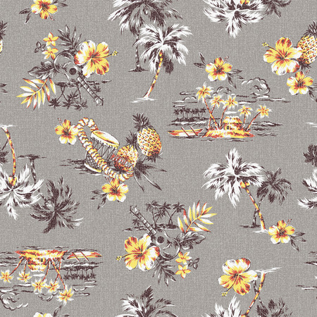 aloha: Aloha shirt pattern