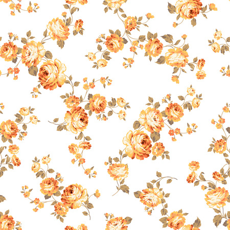 seamlessly: Rose flower pattern