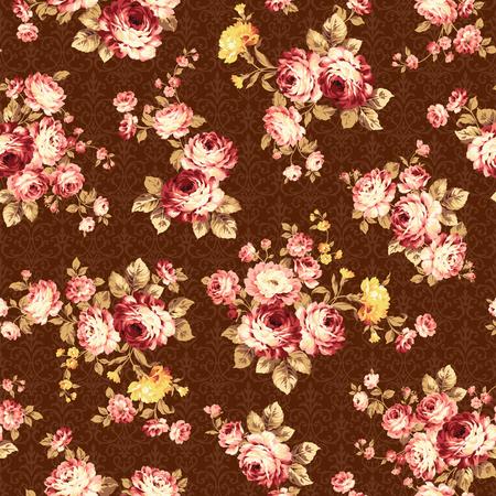 rose bouquet: Rose flower pattern