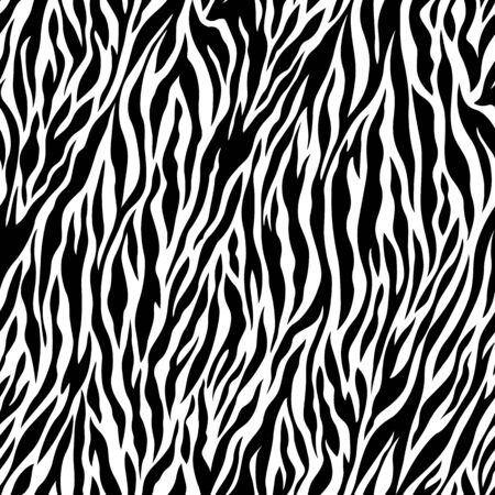 Zebra pattern illustration Stock Photo