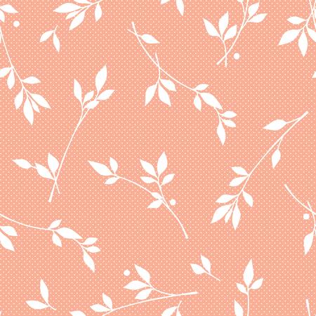 simplification: Leaf illustration pattern