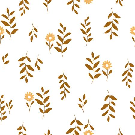 lovable: Leaf illustration pattern
