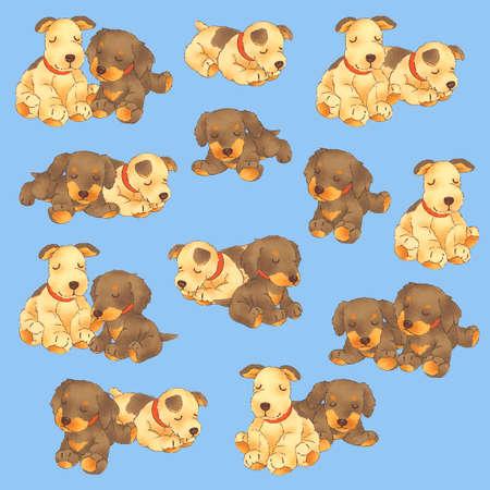 Ilustración del perro