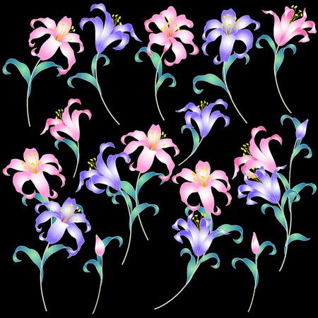 japanese style: Japanese style lily