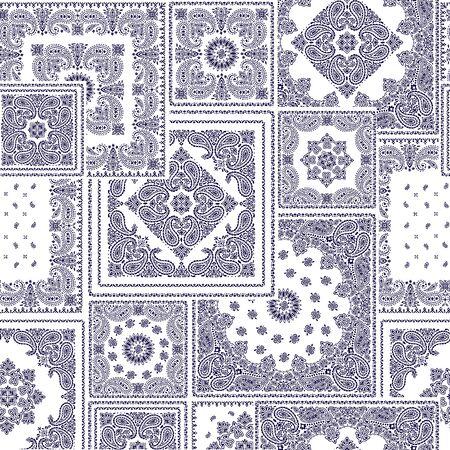 bandanna: Bandanna pattern design Illustration