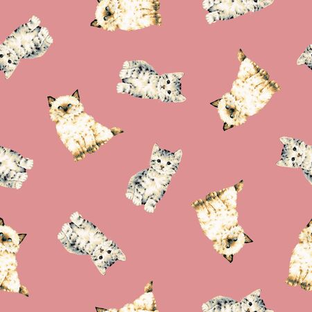 gambol: Pretty cat pattern