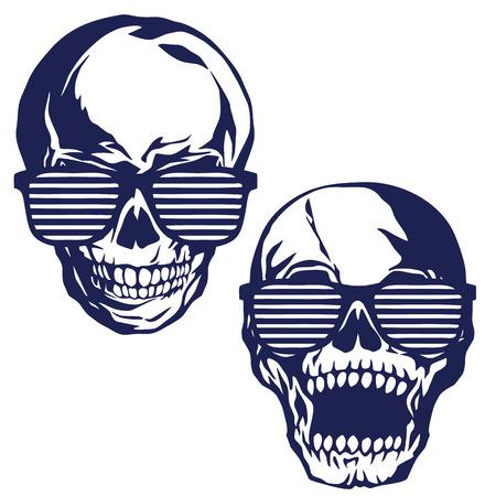 rebellious: Skull illustration,
