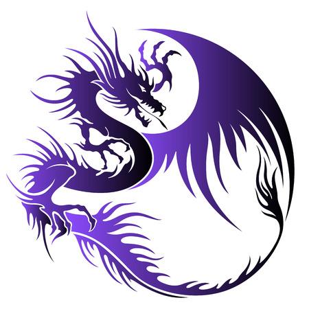 Dragón ilustración objeto