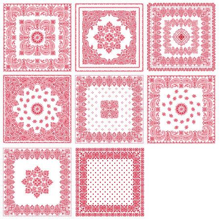 scarf: Scarf ornament design