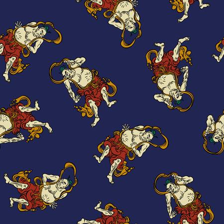 eccentric: Buddhist  pattern