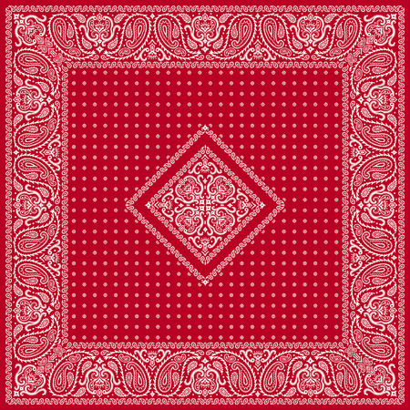 quilted fabric: Scarf ornament design