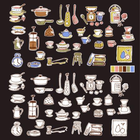 strainer: Illustration of the tableware,