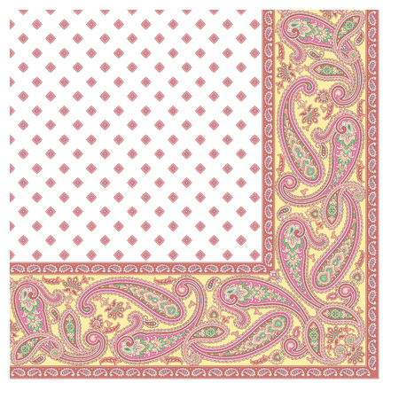 Paisley scarf ornament