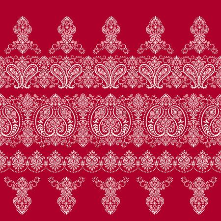 Scarf ornament design