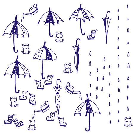 Illustration of the umbrella
