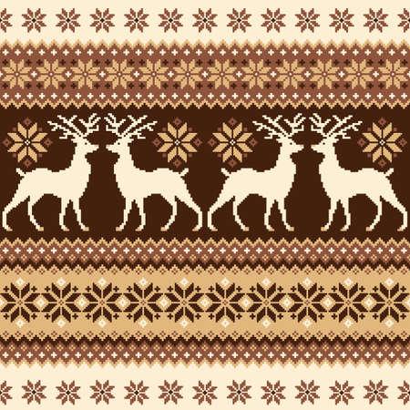 nordic: Nordic tradition pattern Illustration