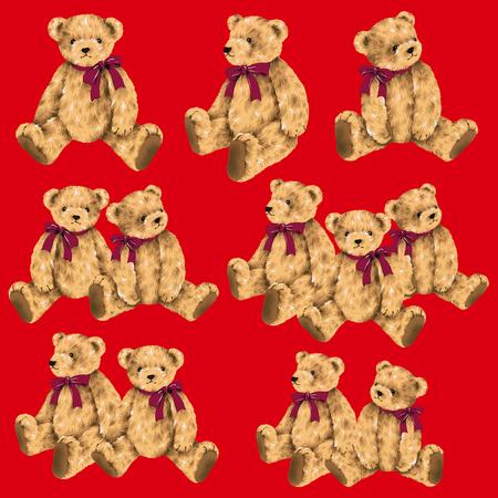 Pretty bear illustration