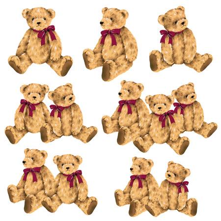 amiability: Pretty bear illustration
