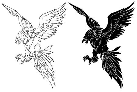 revive: bird illustration