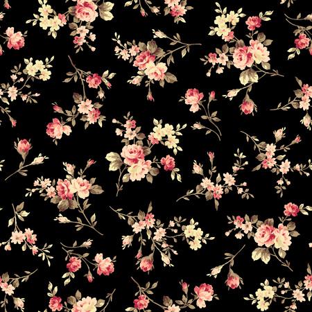 Flower illustration pattern 版權商用圖片 - 64037829