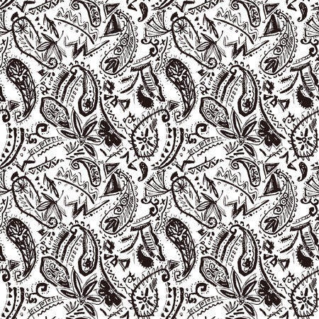 Paisley illustration patternpaisley, material, blurred, Collapsed, background, texture, vector, pattern, decorative, design, fashion, textile, ethnic, Rough, Rough, fabric, Interior, abstract, seamless, repeatedly, graphic, wallpaper, ornament,