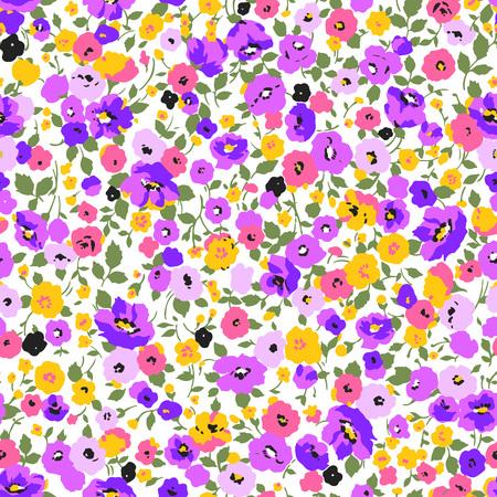 Resumen patrón de flores