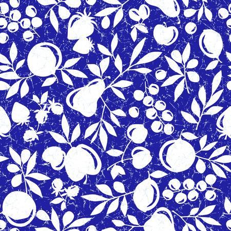 Fruit leaf illustration