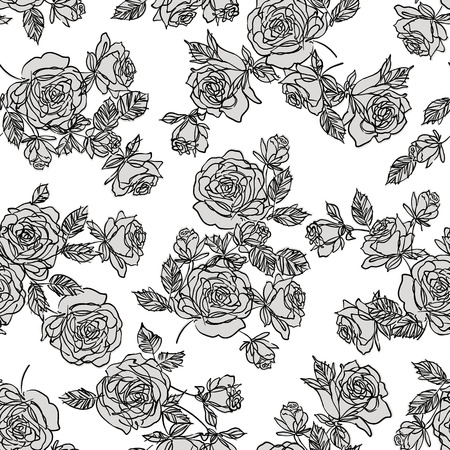 simplification: Abstract flower pattern