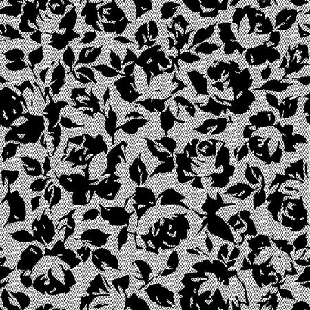 petal: Rose illustration pattern