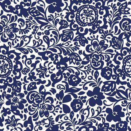 chintz seamless pattern