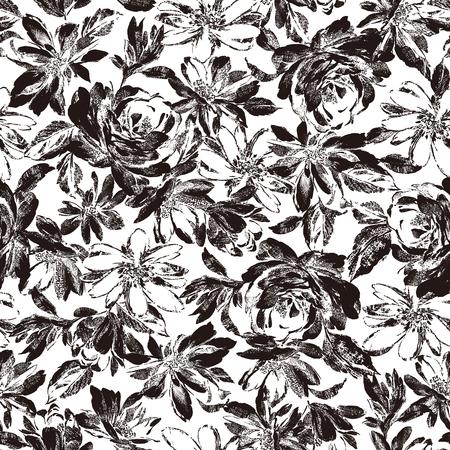 petal: Flower illustration pattern