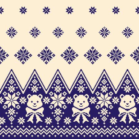 Nordic pattern illustration Иллюстрация