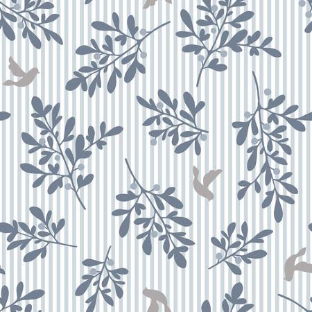 Leaf Illustration Muster Vektorgrafik