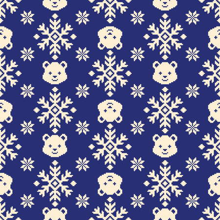 Nordic pattern illustration  イラスト・ベクター素材