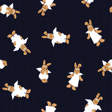 Mooi konijnpatroon