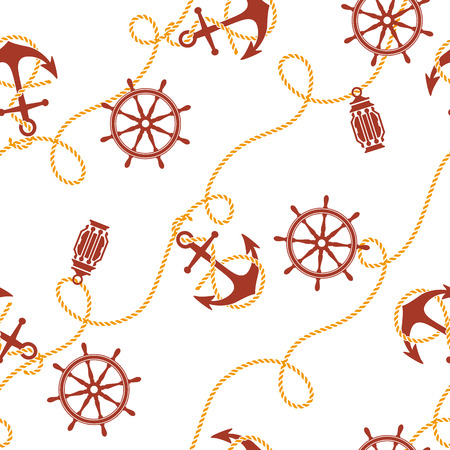 basic figure: anchor and steering wheel pattern