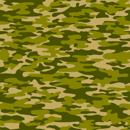 disappear: Camouflage pattern Illustration