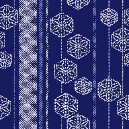 pattern: Japanese style tradition pattern Illustration