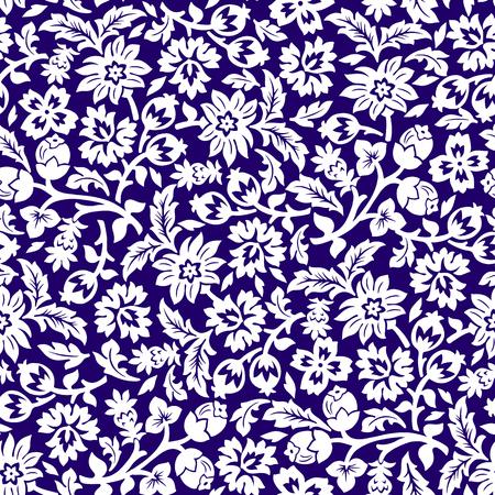 Chintz seamless pattern.
