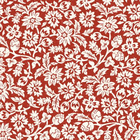 Beautiful chintz seamless pattern.