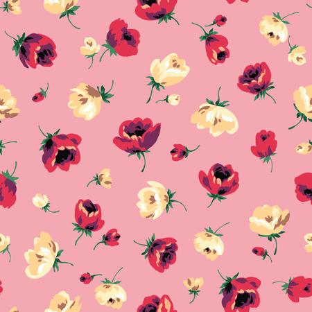 Blumenmuster Muster Standard-Bild - 78609631