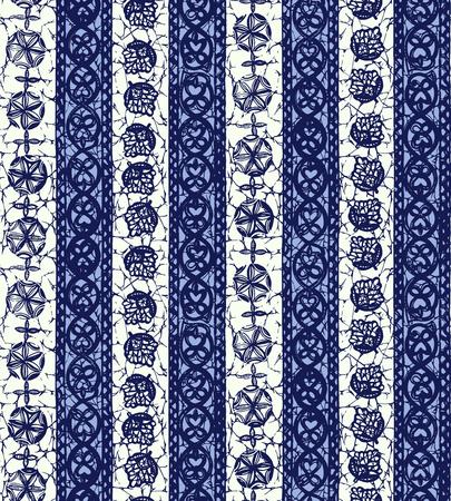 Ethnic pattern illustration