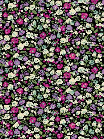 simplification: Small flower pattern
