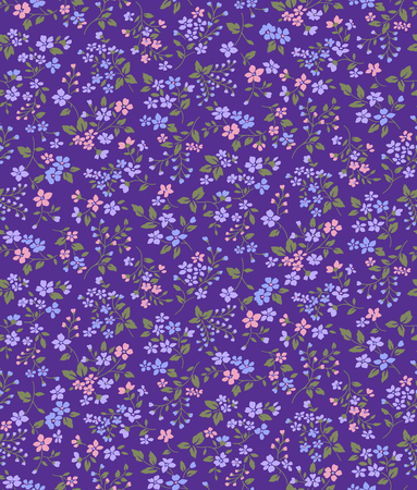 Small flower pattern 版權商用圖片 - 79259129