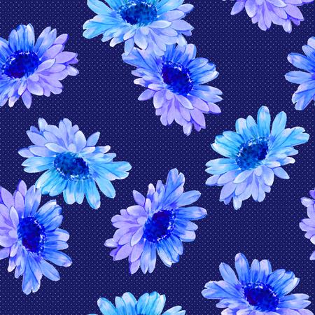 seamlessly: Flower illustration pattern